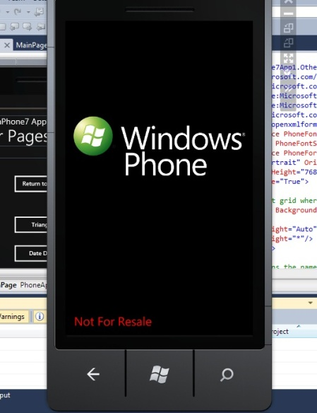 Windows Phone 7.1 Mango Emulator Not For Resale