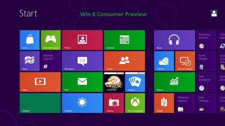 Win8 Consumer Preview Screen 70 pct
